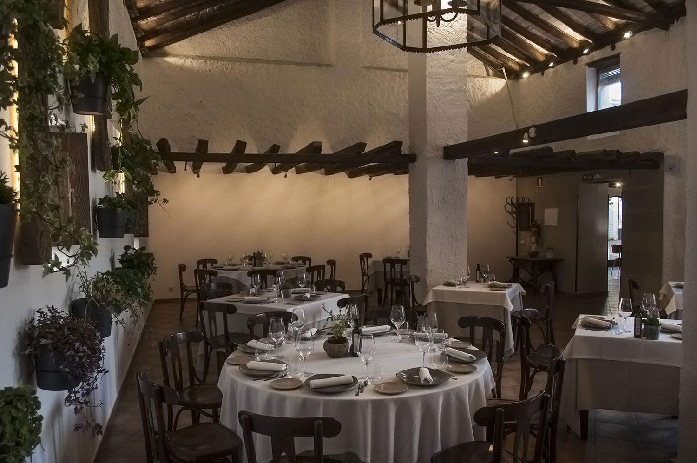 Sala ambiente restaurante el pajar